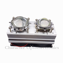 100W 200W High Power LED Heatsink cooling with fans 44mm/57mm Lens +Reflector Bracket