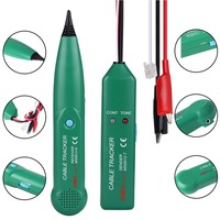 (Ship From DE) Professional Telephone Phone Wire Network Cable Tester Line Tracker With Carrying Bag For MASTECH MS6812