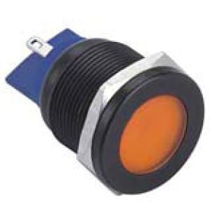 ELEWIND black pilot lamp(PM221F-D/J/O/12V/A)