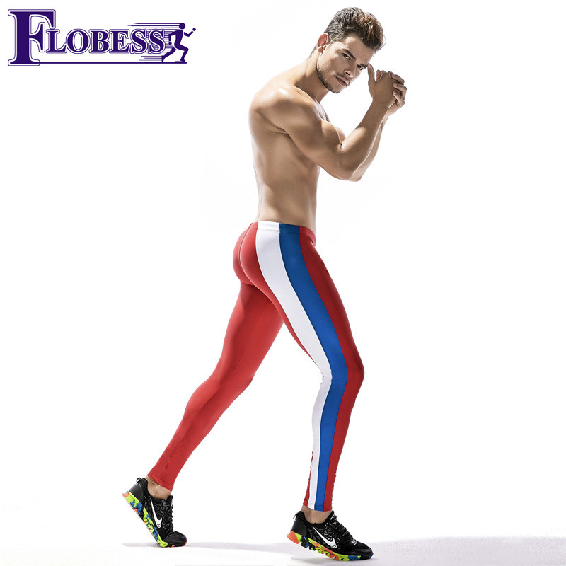 2018 New Compression Pants Sports Running Tights Men Jogging Leggings Fitness Gym Clothing Sport Men Basketball Exercis Trousers
