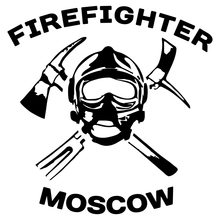 CK2579#15*15.2cm Firefighter MOSCOW funny car sticker vinyl decal silver/black car auto stickers for car bumper window car decor ck2642 12 24cm search engine girl funny car sticker vinyl decal silver black car auto stickers for car bumper window car decor