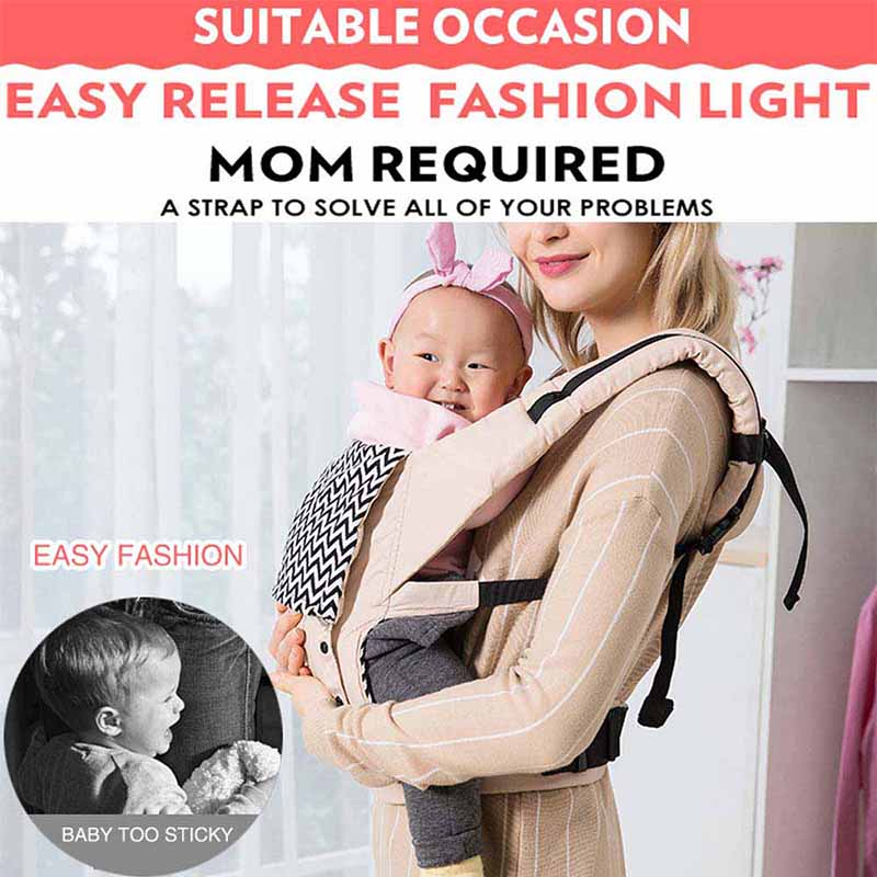 Ergonomic Baby Carriers Backpacks And Portable Baby Sling Wrap For 5-36 Months Babies 12