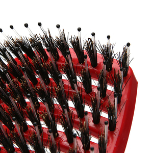 Image 3 - Cheveux cuir chevelu Massage peigne brosse à cheveux soies Nylon femmes humide bouclés démêler brosse à cheveux pour Salon de coiffure outils de coiffure