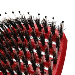 Image 3 - Hair Scalp Massage Comb Hairbrush Bristle Nylon Women Wet Curly Detangle Hair Brush for Salon Hairdressing Styling Tools
