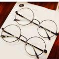 Rodada armações de óculos óculos para Harry Potter óculos com vidro transparente das mulheres homens miopia óculos óptico transparente