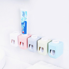 Yooap Automatic Toothpaste Squeezer A Variety of Colors ABS Paste Tube Home Dispenser Bathroom Accessories