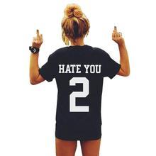 baseball t shirt women femme tops 2016 summer camisetas mujer tee shirt tshirt o-neck short sleeve korean t-shirt number 2