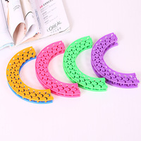 The New 2015 DIY Rainbow Loom Elastic Bracelet Circular Stitching Weaver Children S Educational Toys