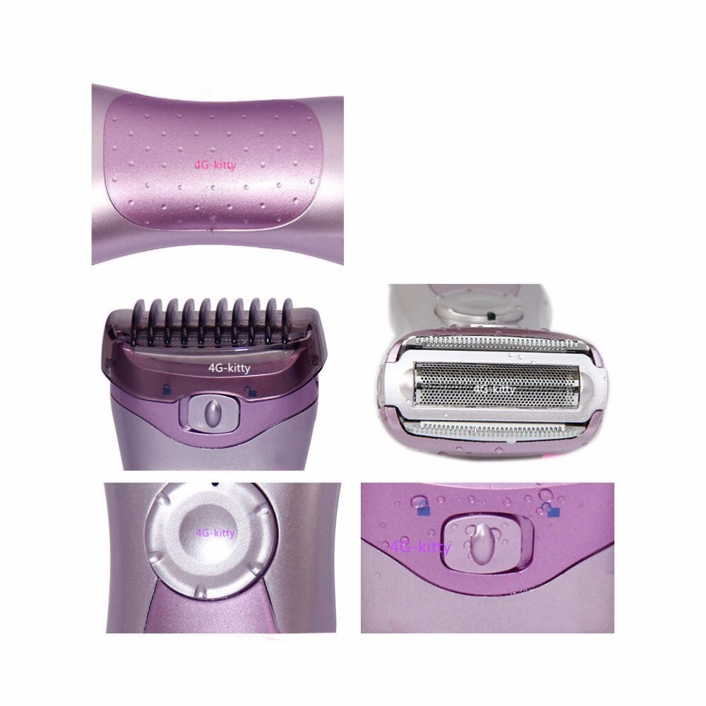 Lady Hair Remover Washavel Eplilator Personal Care Female Electrinic Razor Shaving Machine Wet Dry Shaver for body bear underarm in Razor from Beauty Health