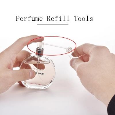 100pcs/lot Perfume Refill Tools Perfume Diffuser Funnels Cosmetic Tool Easy Refill Pump For Sample Perfume Bottle