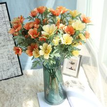 HUAIU Artificial Flower Simulation Single Chrysanthemum Rose Home Wedding Decoration Bride Holding Flowers Fake