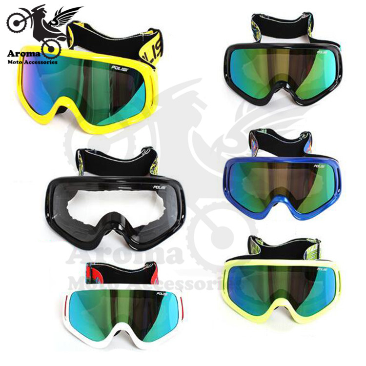 Googles Glasses Motorcycle Motorcross Eyewear Eye Protector For Harley Yamaha