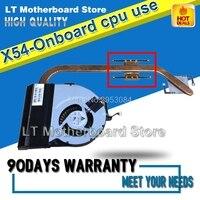 X54 X54H X54HR K54HR Laptop CPU Cooling Fan Radiator Heat Sink Heatsink Cooler Thick copper onboard cpu dedicated Tested Well