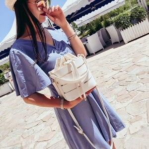 Image 3 - Briggs Mode Trekkoord Emmer Tas Voor Vrouwen 2020 Mini Pu Lederen Crossbody Tassen Dames Schoudertassen Vrouwelijke Handtassen Sac Belangrijkste