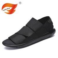 2018 Summer Gladiator Men's Beach Sandals Outdoor Breathable Shoes Roman Men Casual Shoe Flip Flops Large Size 44 Good Quality Sandals