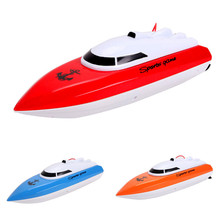 Kids RC Toy Boat Super Mini High Speed Performance Boat Toy RC Boat Racing Game Toy Boat KidsToys Color at Random Xmas Toy Gift