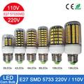 Alta Luminosa E27 E14 B22 5733 SMD LED Milho Bulbo 220 V/110 V 3 W 5 W 7 W 9 W 10 W 12 W Spotlight Lâmpada LED Luz de Velas Para casa iluminação