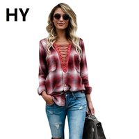 NEW Women Slim Outerwear Blouse Tops Clothing 2017 Hot Sale Autumn Winter Ladies Female Casual Cotton