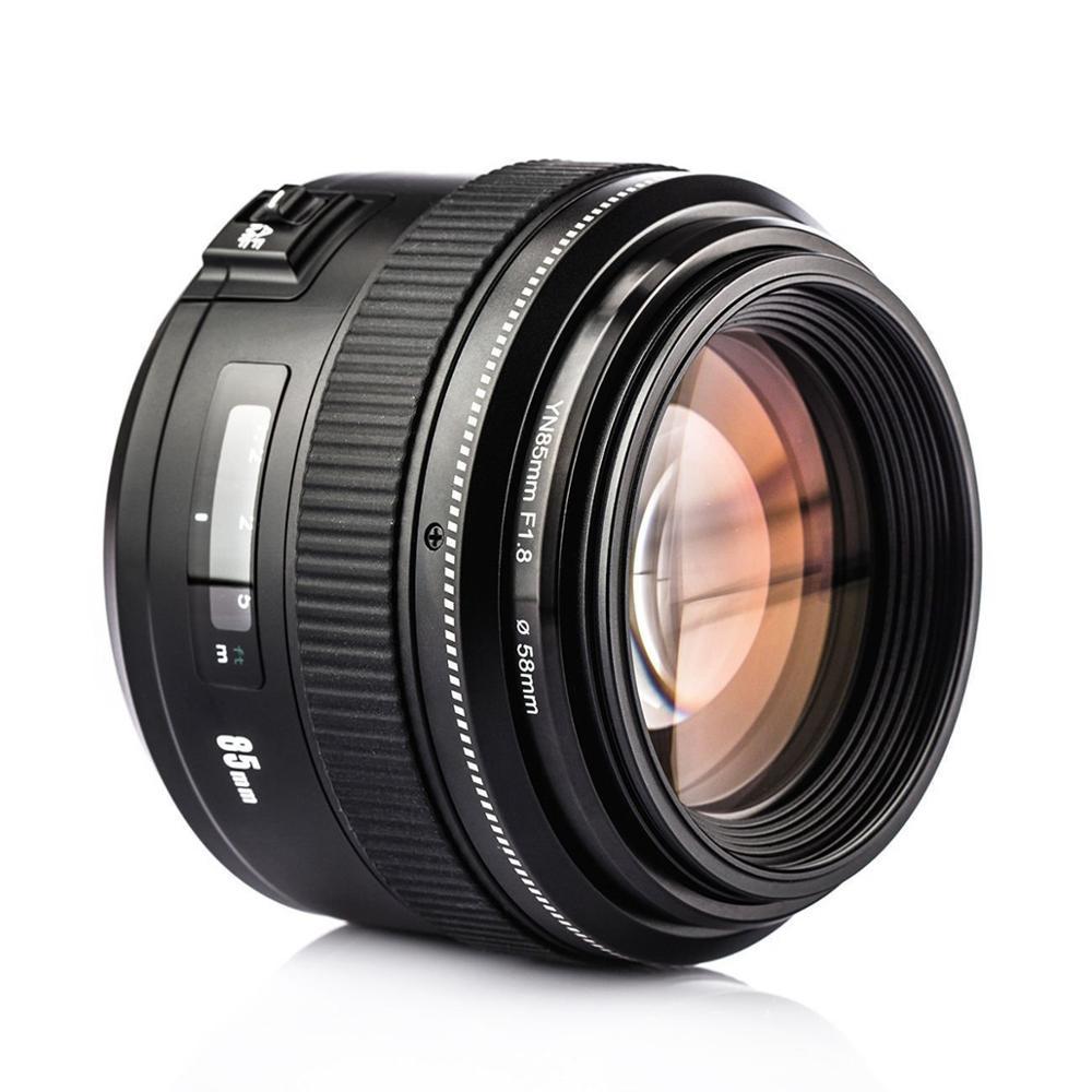 YONGNUO 85 MM F1.8 AF/MF Padrão YN85mm Para Canon EF Montagem da lente de foco fixo Câmera EOS 7DII 5DII 5 DIII 5DS 6D 80D 70D 760D 700D