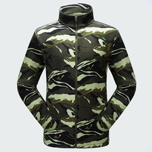2017 New Autumn Winter Outdoor Men Thermal Polar Fleece Coats Thick Warm Jackets Male Printing