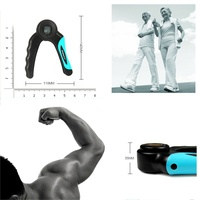 Electronic hand grip count timing professional adjustable finger muscles fitness device home exercise equipment.jpg 200x200