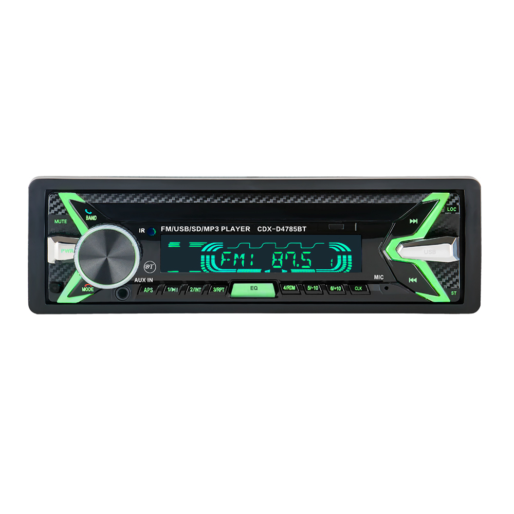 HEVXM 12V Bluetooth Auto Car Radio 1 din Stereo Audio MP3 Player FM Radio Receiver Support Aux Input SD USB MMC Remote Control 12v 1 din in dash bluetooth auto car radio stereo mp3 audio player fm aux input receiver support usb sd mmc remote control