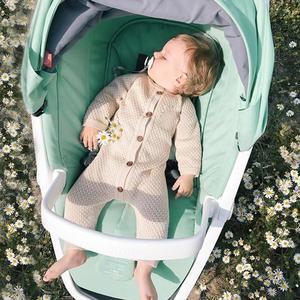 Image 2 - Детский трикотажный комбинезон с длинным рукавом, на возраст 0 18 месяцев