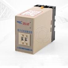 цена на Preset power-on delay digital time relay JS14P 99S AC380V