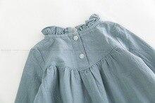 Baby Girl Long Sleeve Dress Blouse Autumn Clothes