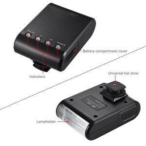 Image 4 - Mini LED lampy błyskowej Speedlite latarka dla Sony A9 A7S A7R A7 III II A6500 A6400 A6300 A6000 A3000 / Canon EOS M50 M6 M5 M3 M2 M