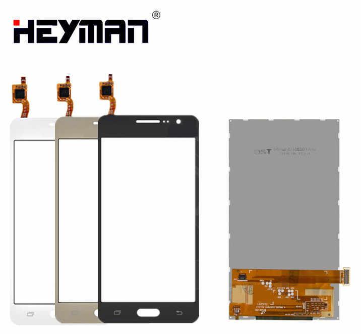 LCD مع شاشة لمس لسامسونج جراند برايم VE G531H/DS SM-G531H J2 شاشة الكريستال السائل شاشة محول الأرقام زجاج لوحة الجبهة