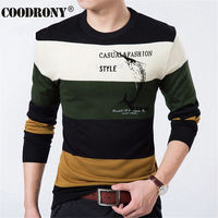 Fish Printed Pullover Men Brand Sweater Men 2015 Cashmere Clothing Striped Long Sleeve Mens Sweaters Wool