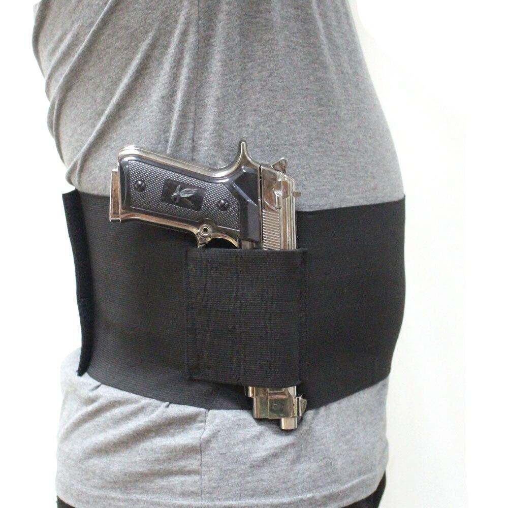 Elástico banda de vientre pistola pistolera encubierto cintura ...