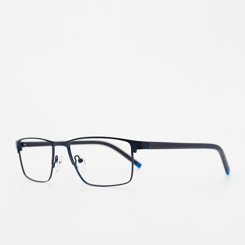 Legierung Vollrand c6a C1a Myopie Black c4a Optische 22 Blue Hq04 Männer Rezept Transparent Computer Designer Brown Brillen Marke rqBfRr