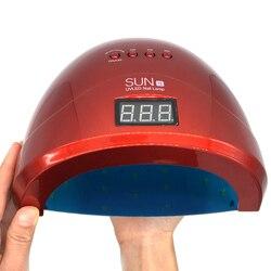 SUN1S 24 Profissional w/48 w Conduziu a Lâmpada UV Secador de Unha CONDUZIU a Lâmpada UV Do Prego Lâmpada de Cura UV para LEVOU Unhas de Gel Polonês Da Arte Do Prego Ferramentas