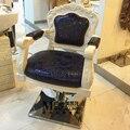 Ретро стекло пластмассы парикмахерское кресло. Парикмахерских посвятил новая стрижка стул