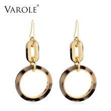 Varole лучший подарок; Новинка; Модный Бисса круглые серьги