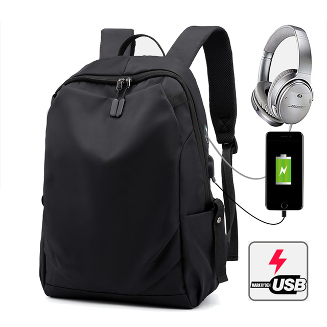 15.6 inch USB Charging Laptop Backpacks Notebook Case For Macbook Air Pro 11 12 13 15 Xiaomi Lenovo Men Travel Laptop Bag