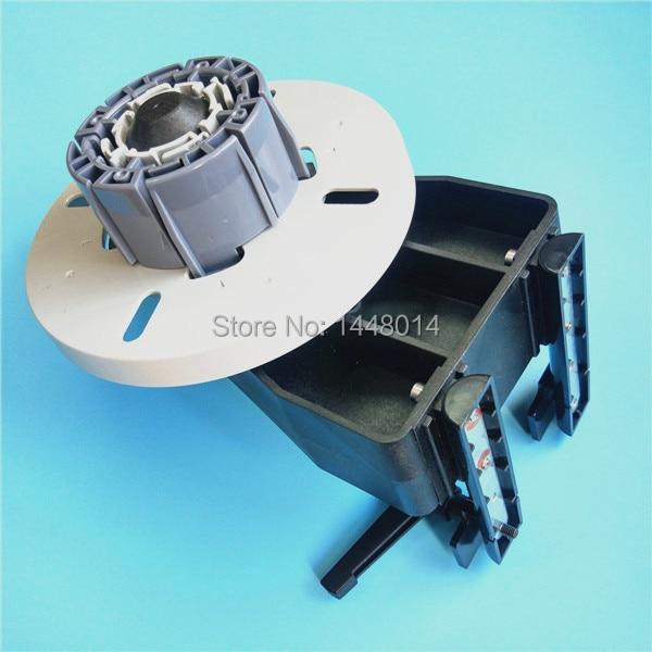 2pcs 1set Inkjet printer Mutoh paper take up reel system with media paper plate Roller for