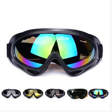 ФОТО Skiing Goggle UV Protection Ski Snowboard Skate Goggles Glasses Outdoor Motorcycle Ski Goggle Glasses Eyewear With Colorful lens