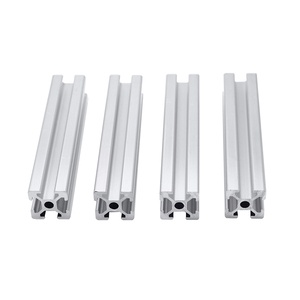 4pcs/lot 2020 Aluminum Profile Extrusion 300mm Length Linear Rail 400mm 500mm 600mm for DIY 3D Printer Workbench CNC
