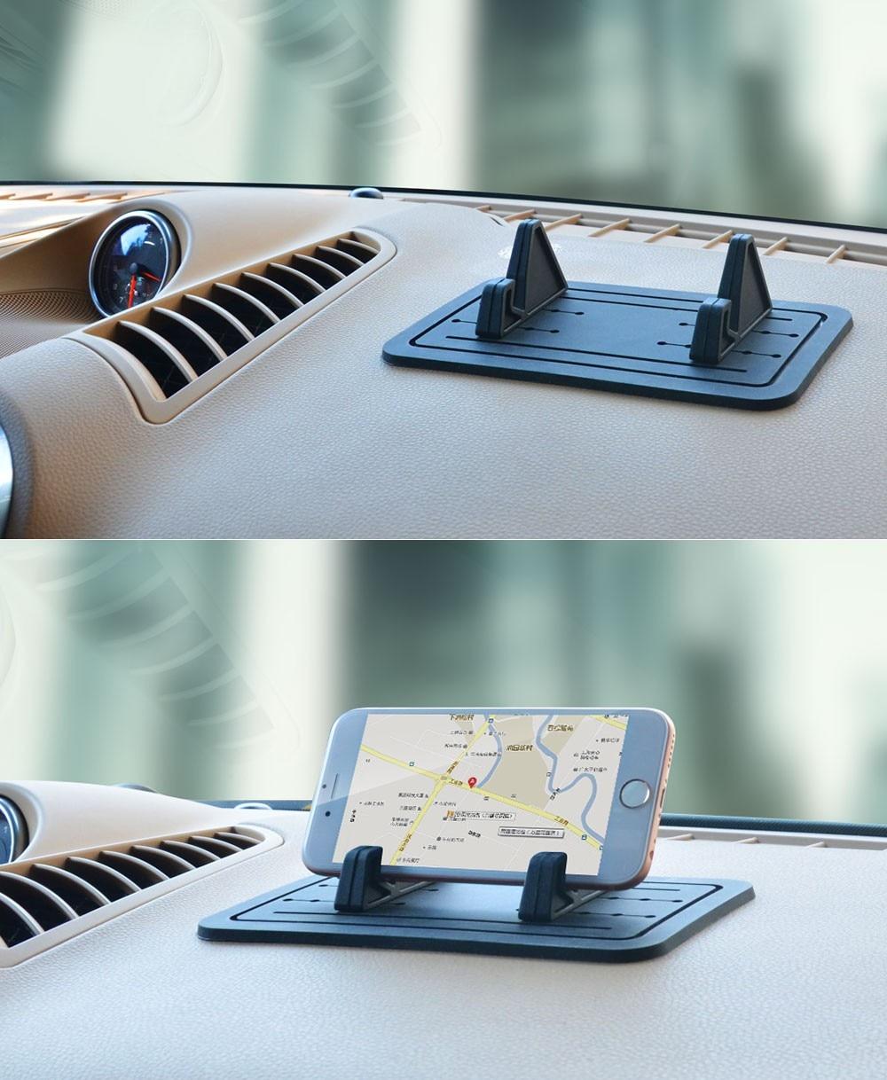 cobao 2016 המכונית החדשה כלי השולחן רכב נייד מחצלת סיליקה ג ' ל הוא למנוע להתחמם נייד phonei כללי על iPhone6s/xiaomi