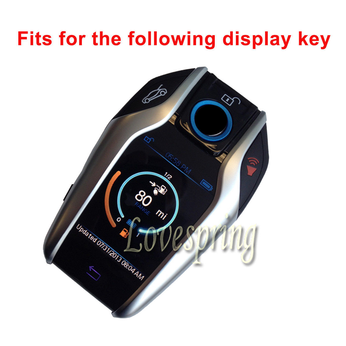Blue Leather Remote Key Fob Case Cover Holder Protector For BMW 2016 2017 7 Series G11 G12 Dispaly In Car From Automobiles Motorcycles On