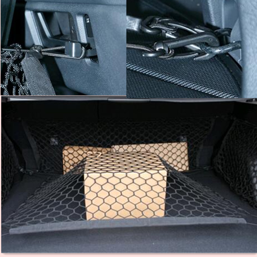 CAR TRUNK ENVELOPE CARGO NET FOR <font><b>Mercedes</b></font> <font><b>Benz</b></font> W211 W203 W204 <font><b>W210</b></font> W124 AMG W202 CLA W212 W220 W205 W201 A Class GLA <font><b>accessories</b></font> image