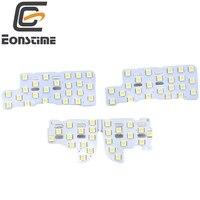 Eonstime 12V 4pcs Set 5050 SMD LED Car Auto Interior Reading Lights Dome Light For Honda