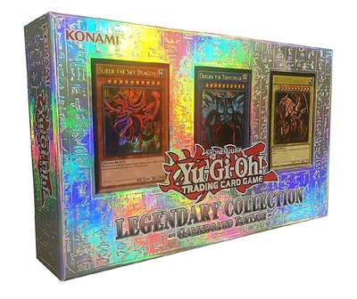 Yu Gi Oh Us And Europe European Edition Lc01 Three Magic God Gift Box Collection Card Boys Girls Toys Gifts