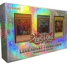 YU GI OH US и Европа Европейский выпуск LC01 три волшебных Бога Подарочная коробка коллекция карт для мальчиков и девочек игрушки подарки