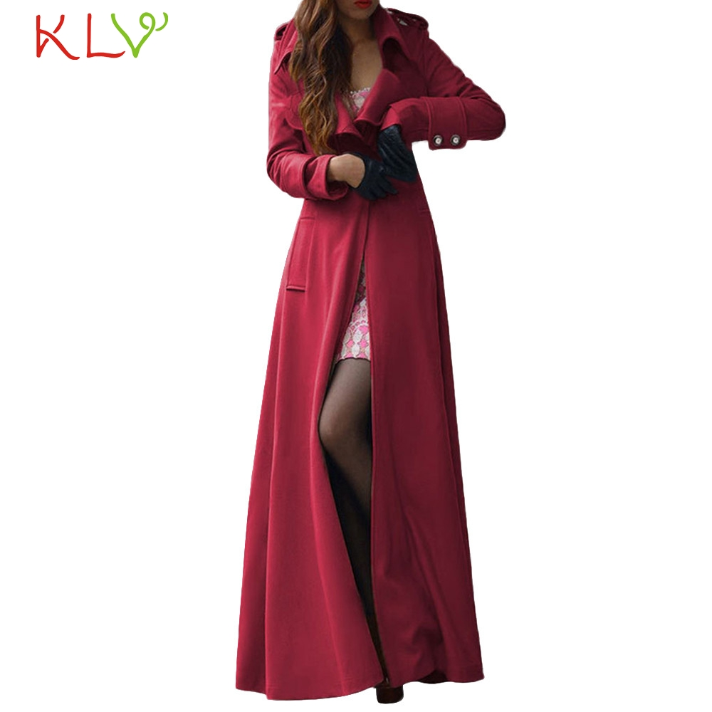 Women Jacket Winter Long 2018 Lapel Trench Parka Plus Size Ladies Chamarra Cazadora Mujer Coat For Girls 18Oct23