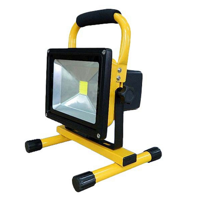 Emergency LED flood light Portable  20w .30w high quality 110-240V long life for use outdoor IP65 waterproof free shipping 13w running time12hours ip65 white constand and red flash portable light emergency light led flood light camping light