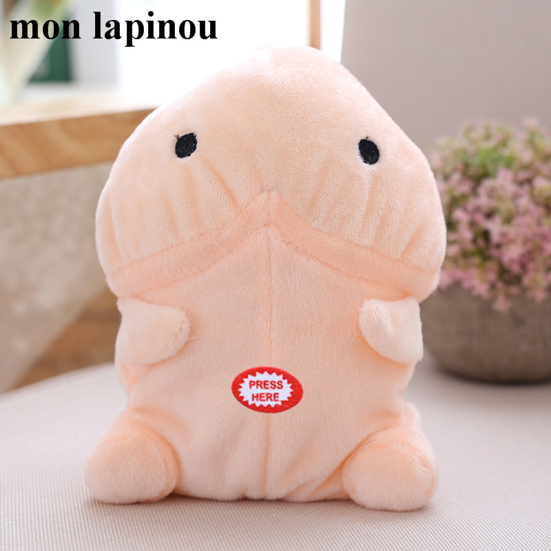 Mon Lapinou electric ushihito plush talking penis plush toy Japanese anime stuffed soft doll funny priapus plush boyfriend toy ...
